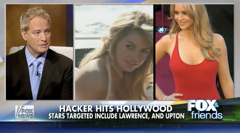 Celebrity Nude Photo Leaks and How to Protect your Privates (Fox & Friends)