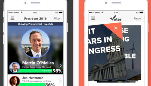App to Pick A President