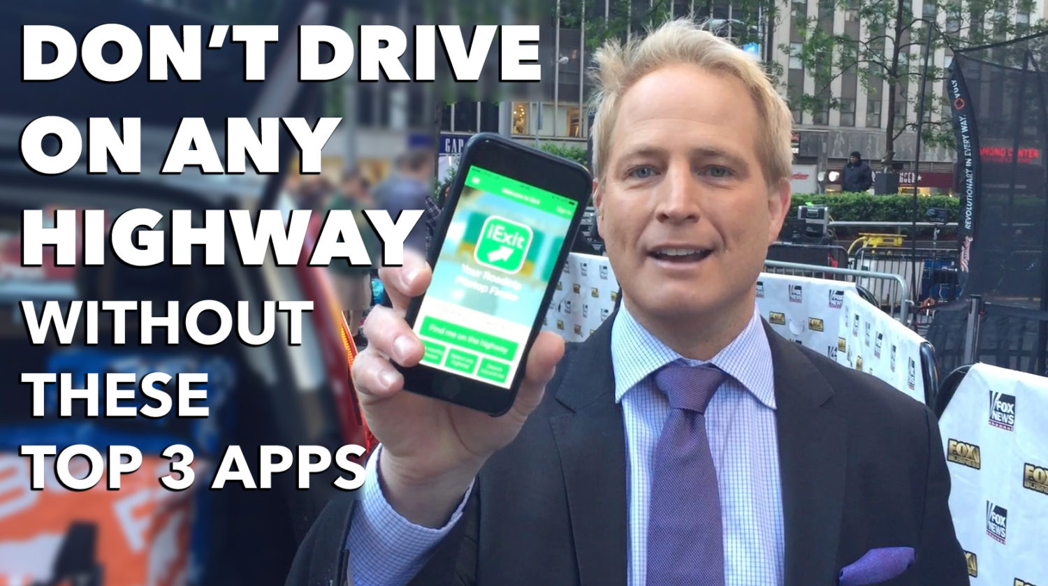 Top 3 Road Trip Apps for your Ride