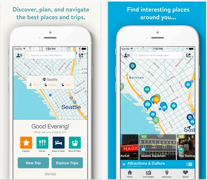Map Your Trip App – Europe Map Travel Planner