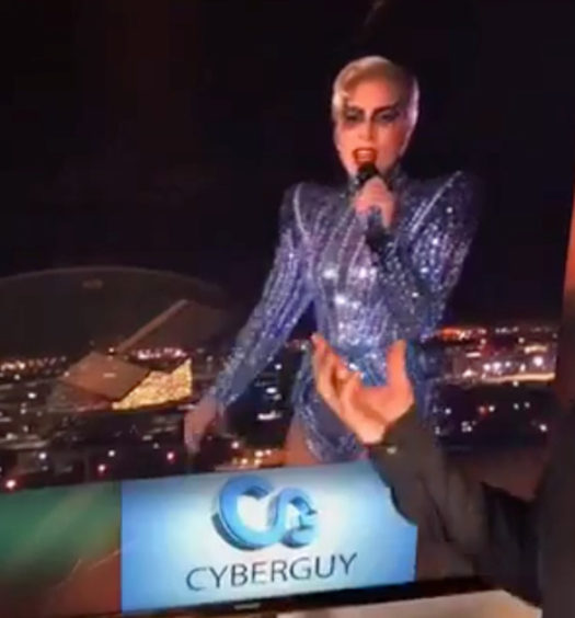 Technology Behind Lady Gaga's Super Bowl Half-Time Trick Revealed
