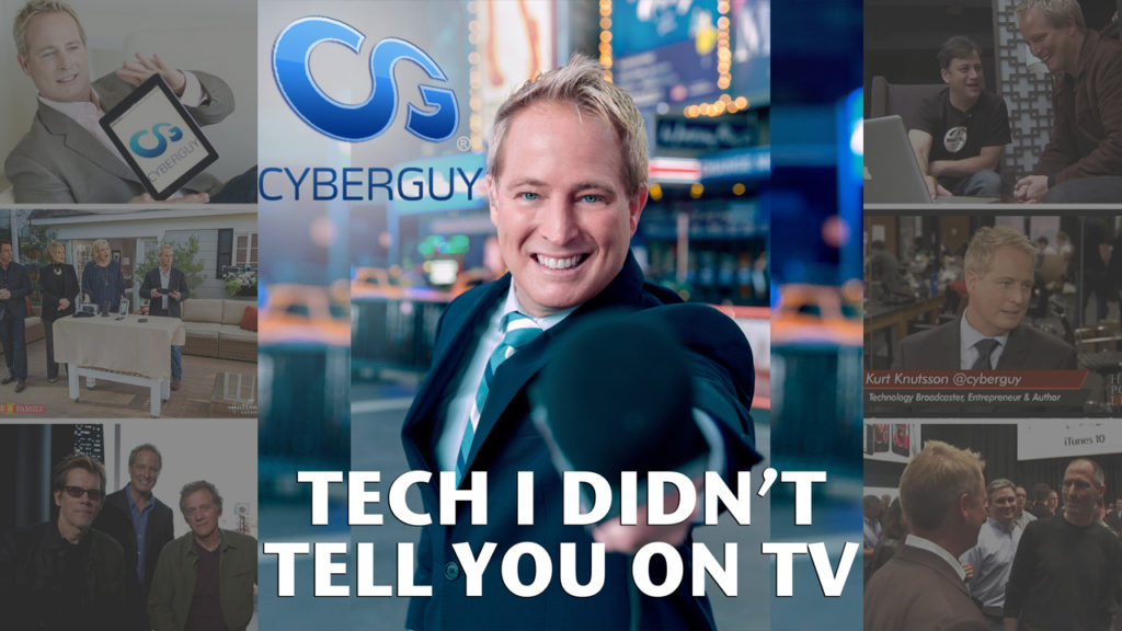 cyberguy podcast tech i didn t tell you on tv title card youtube