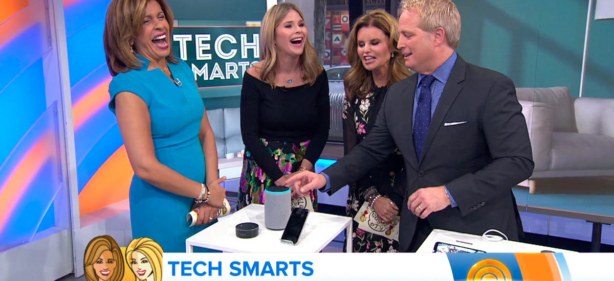Today Show - Coolest Tricks from the Hottest Tech Gifts with Kurt the CyberGuy