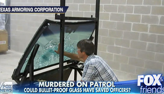 The Bulletproof Glass That Would Have Saved NYPD Officers