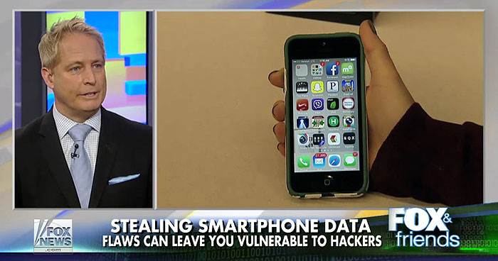 Smartphone Flaws Could Leave Your Data Vulnerable
