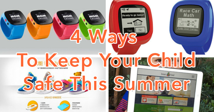 4 Ways to Keep Your Child Safe This Summer