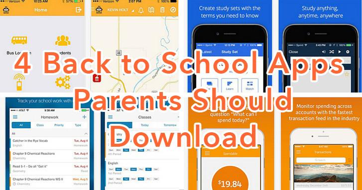 4 Back To School Apps Parents Should Download