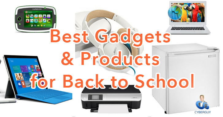 Best Gadgets & Products for Back to School