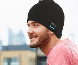 This App Could Save Your Life In Cold Weather - Bluetooth Beanie Hat Black