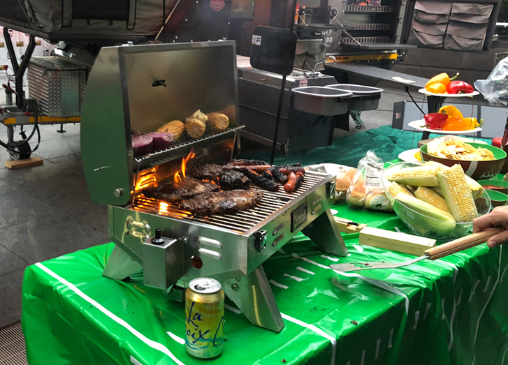 How To Tech Your Tailgate Party Just Right: Smoke Hollow Grill