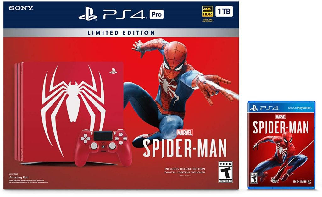 Best Gear For Gamers: Sony PS4 limited edition Marvel Spider-Man bundle
